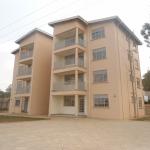 Newly constructed staff Units at Mbarara RRH